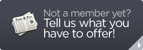 Not a member yet? Tell us what you have to offer!